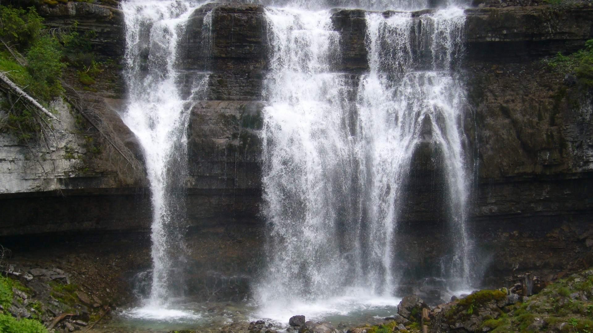 cascate vallesinella campiglio chalet fogajard